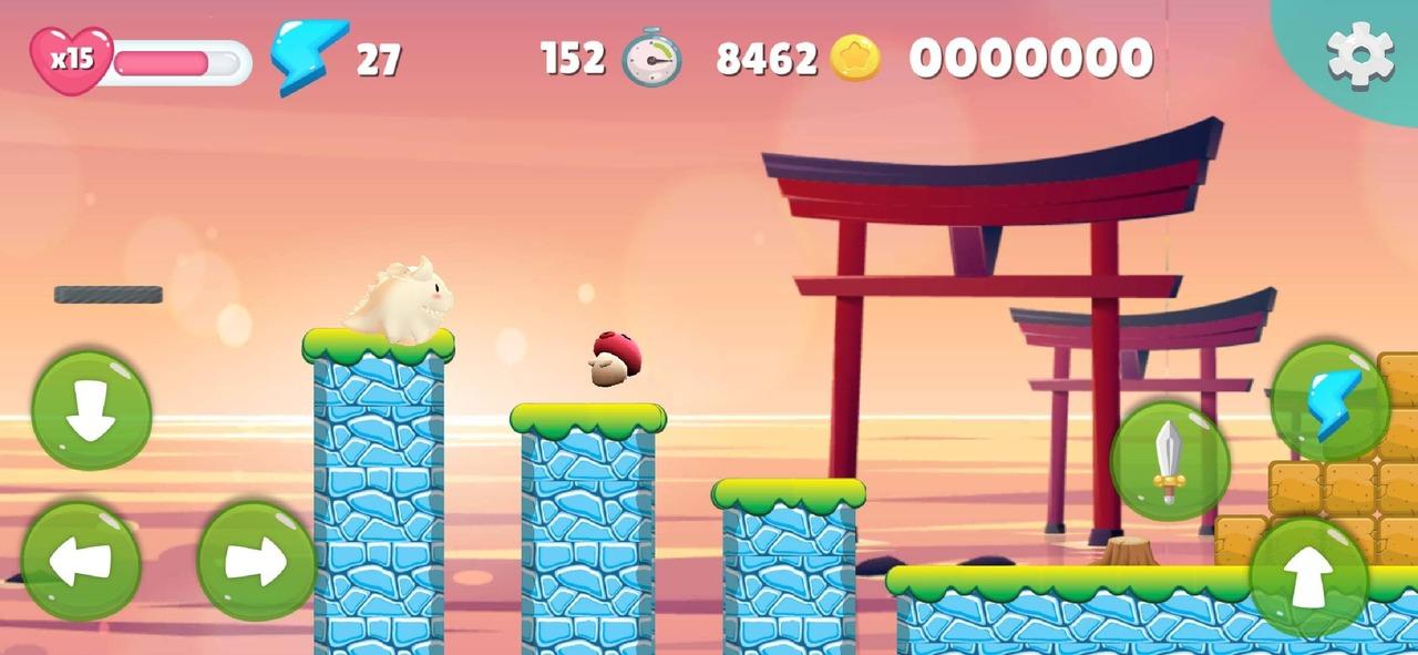 dragon game platform 2D